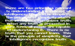 Simplicity of Truth