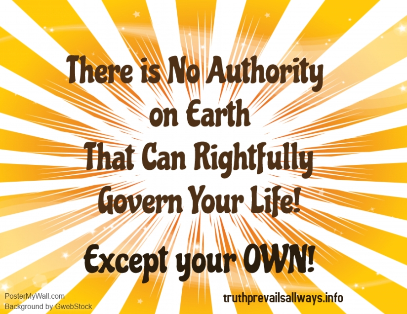 There is no authority on earth