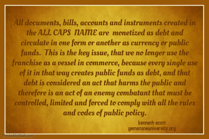 36 All documents bills accounts and instruments created in